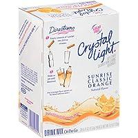 Crystal Light Sunrise Orange Drink Mix (120 Packets, 4 Boxes of 30)