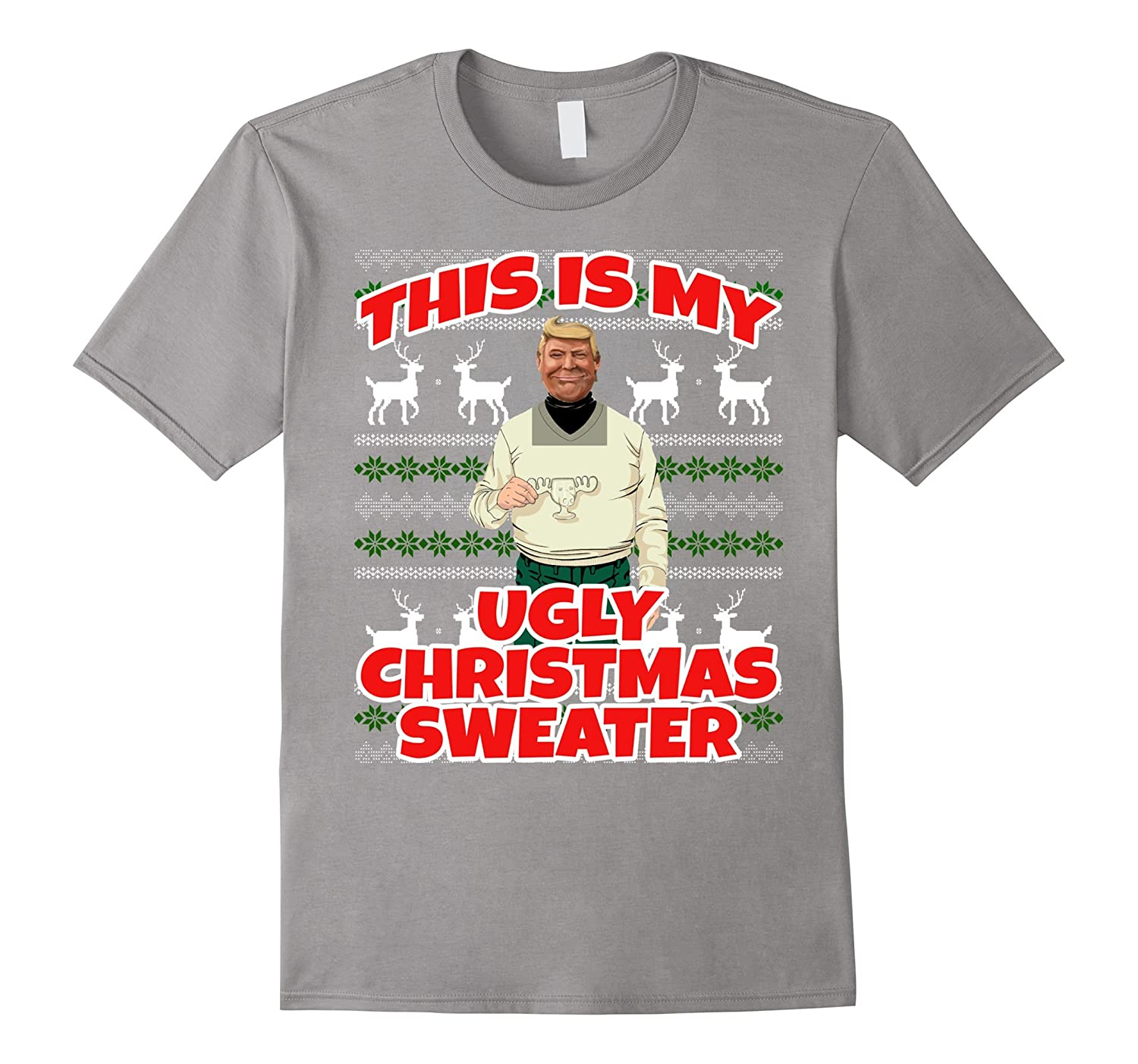Trump Christmas Sweater.This Is My Ugly Christmas Sweater Trump Christmas T Shirt Anz