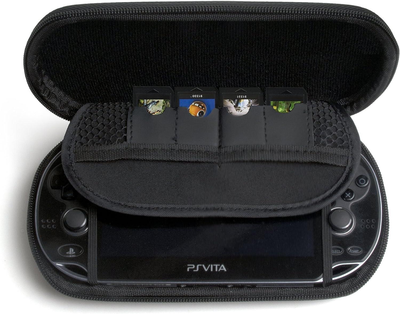Amazon.com: CTA Digital PS Vita Travel EVA Protective Case ...