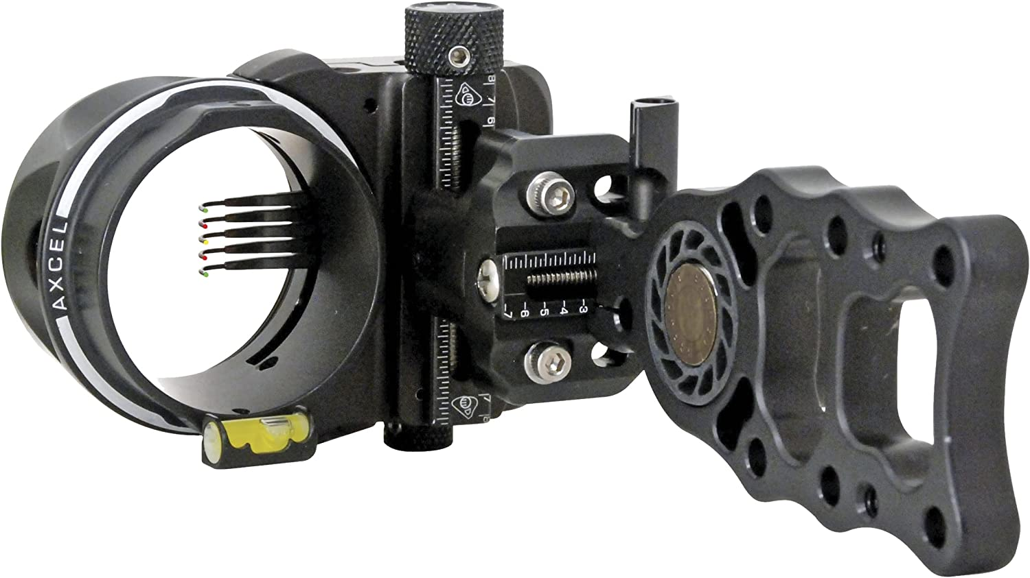 the best bow sights Axcel 5 Pin 0.019 Fiber Armortech HD Hunting Sight