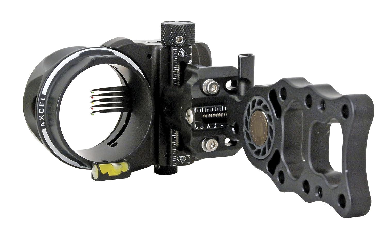 Axcel 5 Pin .019 Fiber Armortech HD Hunting Sight Black
