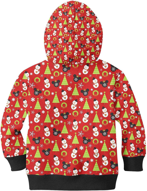 Christmas Baubles Kids Zip Up Hoodie Unisex