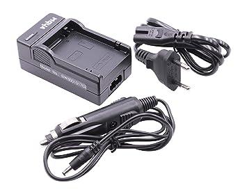 CARGADOR CABLE DE CARGA + CARGADOR PARA COCHE para CANON baterías LP-E8 compatibles con Canon EOS 600D 650D 700D 600 650 700 D