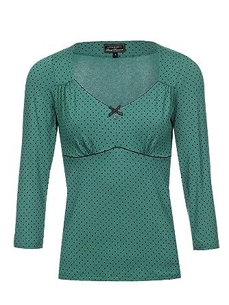 8b0e9e0201be Vive Maria American Beauty 3 4-Arm Shirt Grün  Amazon.de  Bekleidung