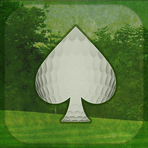 golf and card game - 9