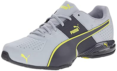 PUMA Men's Cell Surin 2 Nubuck Cross-Training Shoe, Quarry/Periscope/Sulphur