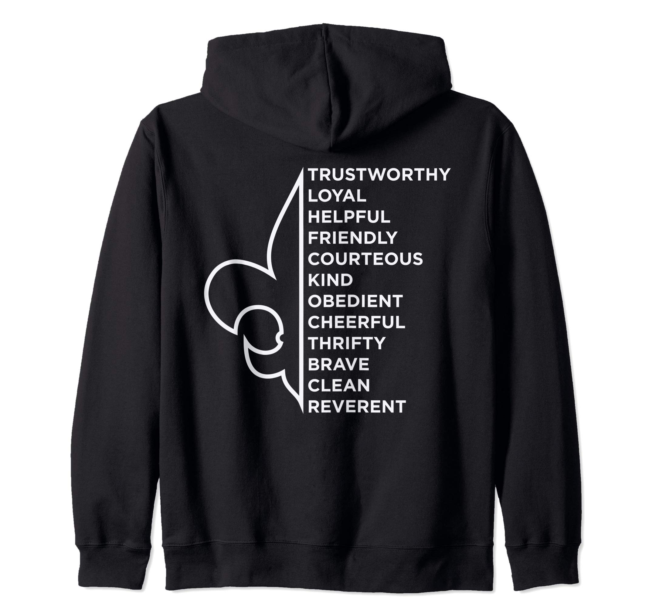 Scout Law | Scouting Zip Hoodie by 107 Scouting