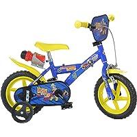 Dino Bikes 123GL-SIP 12-Inch Brandweerman Sam Fiets