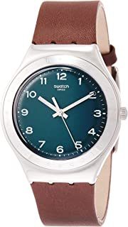 Swatch Ygs133c Analog Mit Armband Herren Leder Uhr Quarz qMGUpSVz