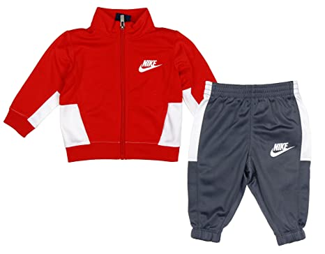 320aeaaf9 Image Unavailable. Image not available for. Color: Nike Baby Boys Two Piece  Tracksuit ...