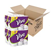 Deals on VIVA Choose-A-Sheet Paper Towels, White, Big Plus Roll, 24 Rolls