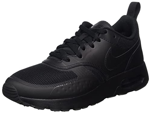 check out a099a 8c0cd Nike Air Max Vision, Boy s Low-Top Trainers, Black (Black Black