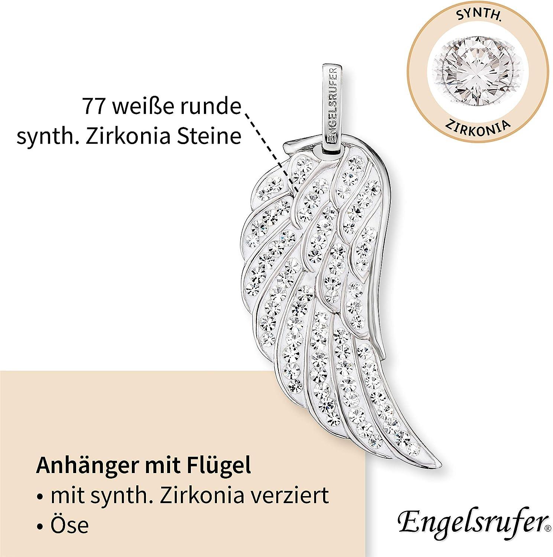 in diversi design Ciondolo a forma di ali dangelo Engelsrufer da donna in argento sterling 925