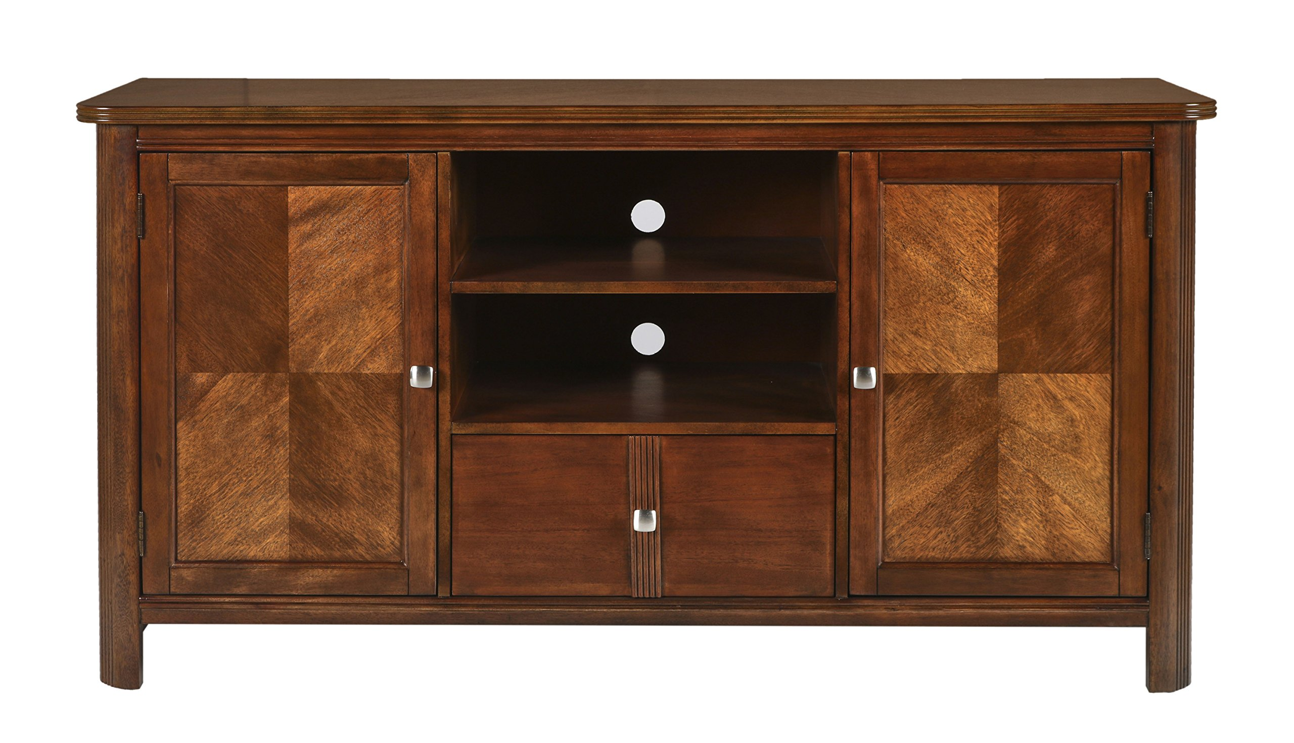 New Classic Leighla Entertainment Console, African Chestnut