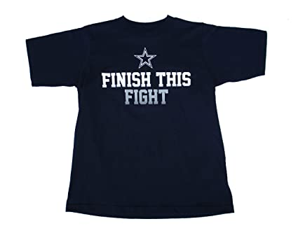 Image Unavailable. Image not available for. Color  Genuine Merchandise  Dallas Cowboys Finish This Fight ... 4067618a7