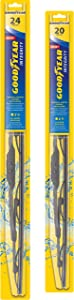 Goodyear Integrity Windshield Wiper Blades, 24 Inch & 20 Inch Set