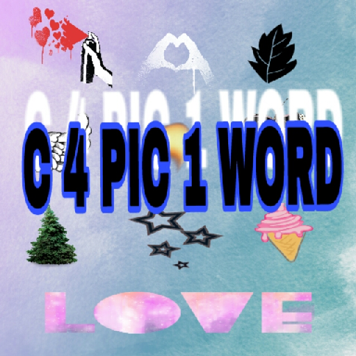 4 pics 1 word c - 1