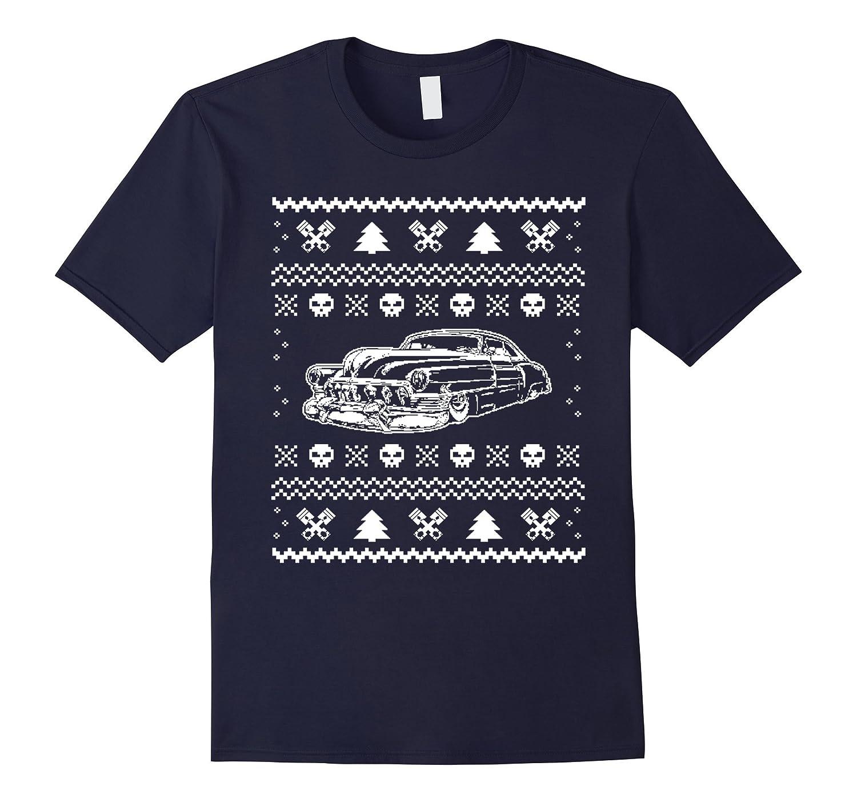Hot Rod Christmas T-shirts & Hoodies Tshirt-Art
