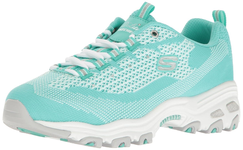 Mint Knit Skechers Sport Women's D'Lites Looking Glass Fashion Sneaker