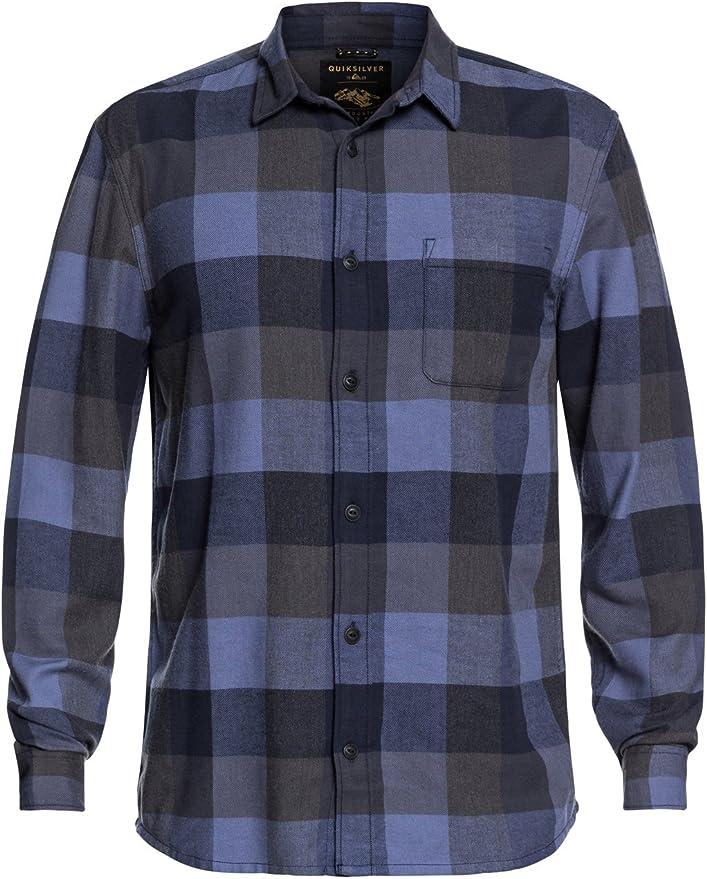 Quiksilver Stretch Flannel - Camisa de Manga Larga Resistente al Agua para Hombre: Amazon.es: Ropa y accesorios