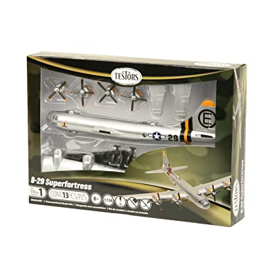 Testors B-29 Superfortress Aircraft Model Kit (1:130 Scale): Home & Kitchen