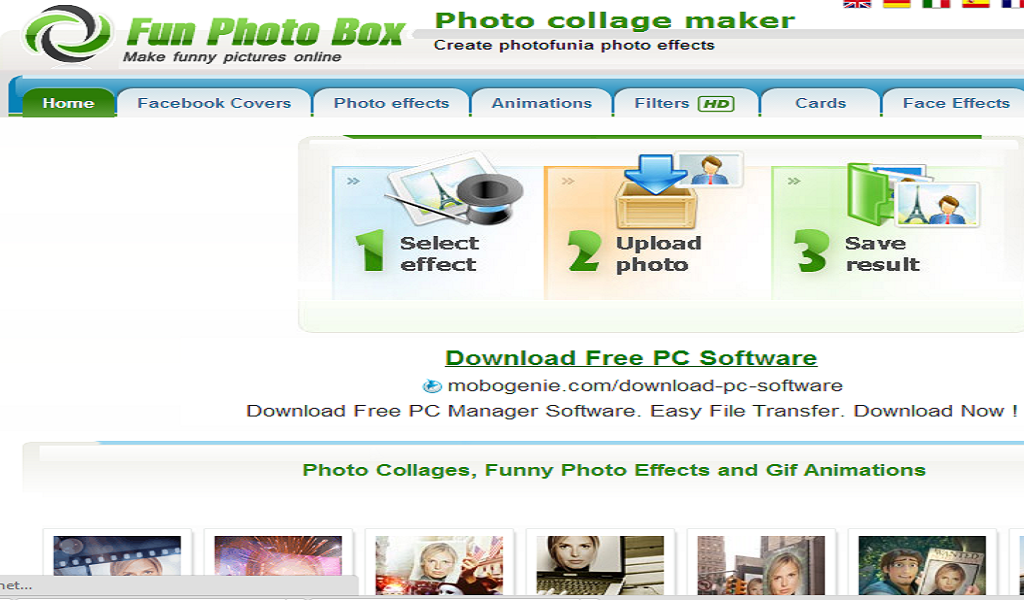 funny photo editing apps for pc free download