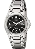 Citizen Men's Eco-Drive Titanium WR100 Watch