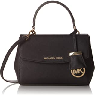 3416b6d4ac80 Amazon.com  MICHAEL Michael Kors Women s Ava Small Satchel
