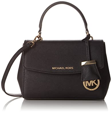 eaa8c2be0d19 Michael Kors Women s Ava Extra-small Saffiano Leather Crossbody Cross-Body  Bag
