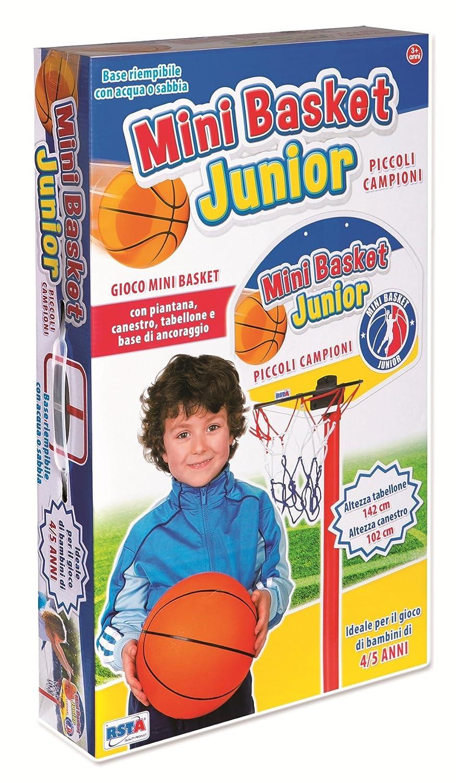 052f7f882264 Bakaji Basket Canestro a Piantana in Metallo per Bambini Altezza ...