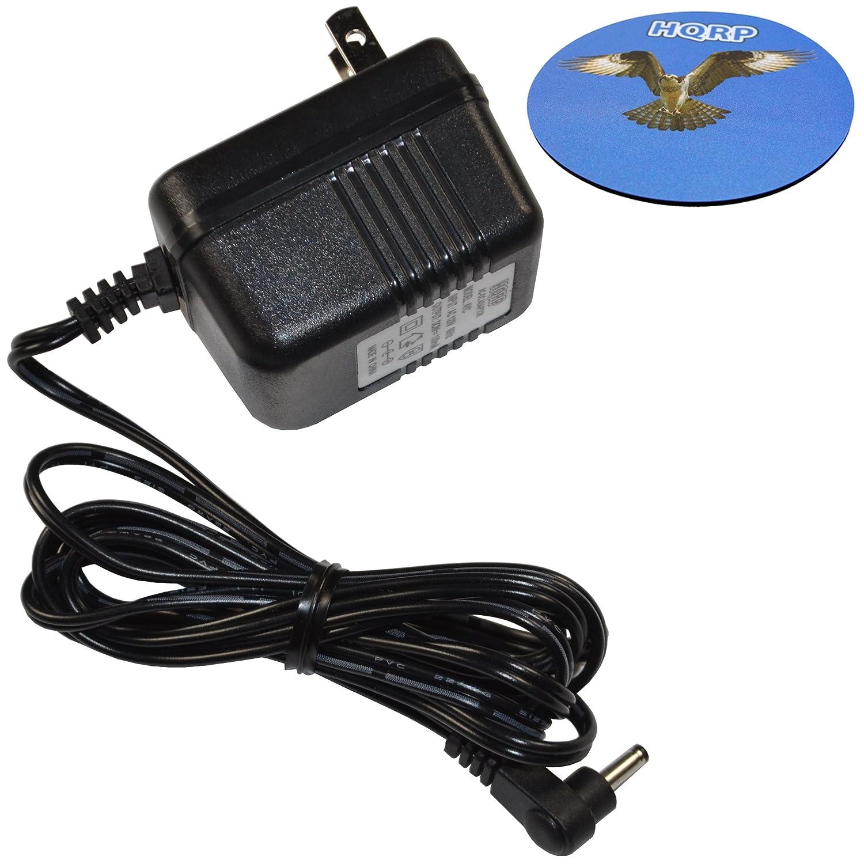 HQRP AC Adapter Charger for VXI Blue Parrott 203664 052030 502030 BlueParrott B250-XT, B250-XT+ Wireless Bluetooth Headset, Roadwarrior, Blue-Parrot PL602030 Power Supply Cord + Coaster 887774407181703