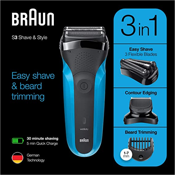 Braun Series 3 Shave & Style 310BT - Afeitadora eléctrica para ...