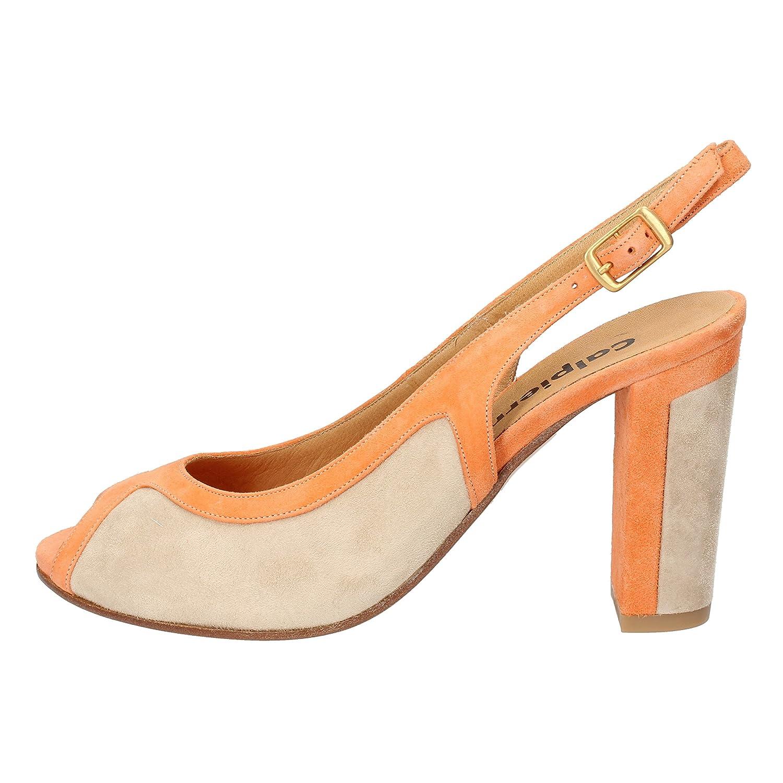 - CALPIERRE Sandals Womens Suede orange