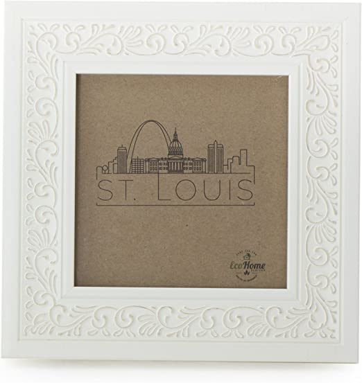 Frame Smart Pack of 4 White picture//photo mounts size 6x6 for 4x4 inches
