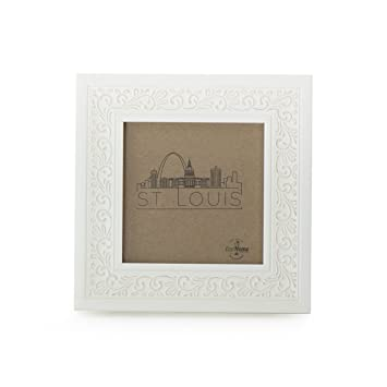 Amazoncom 4x4 Picture Frame White Mount Desktop Display