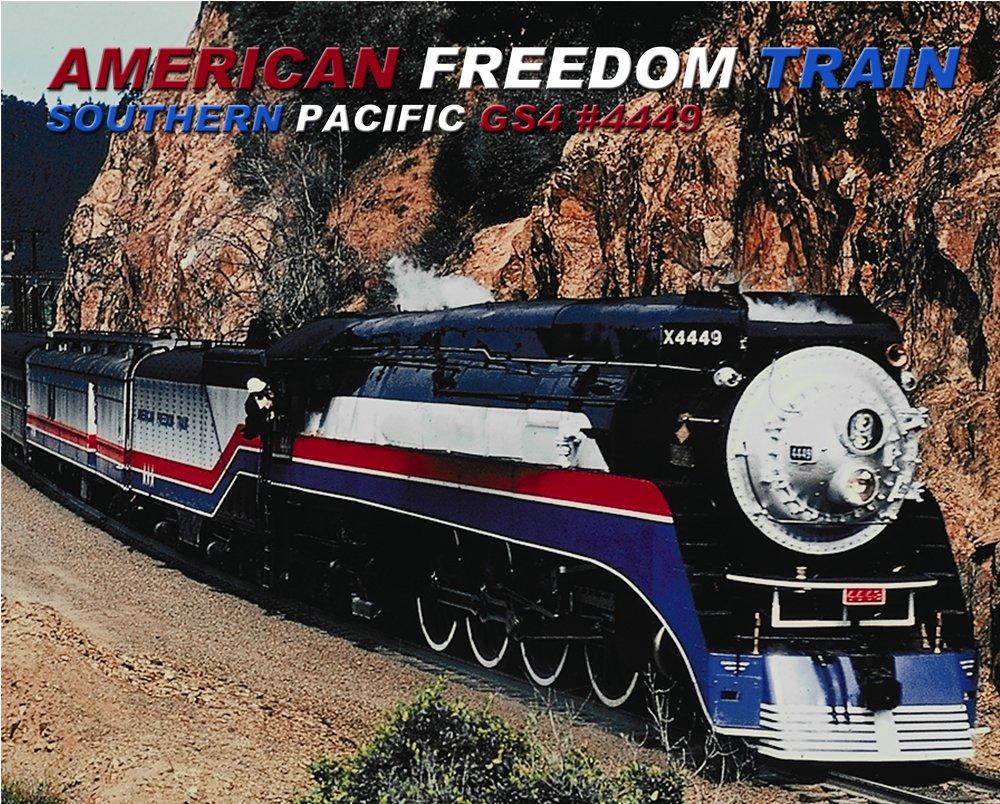 Amazon.com: Southern Pacific 4449 American Freedom Train 8\