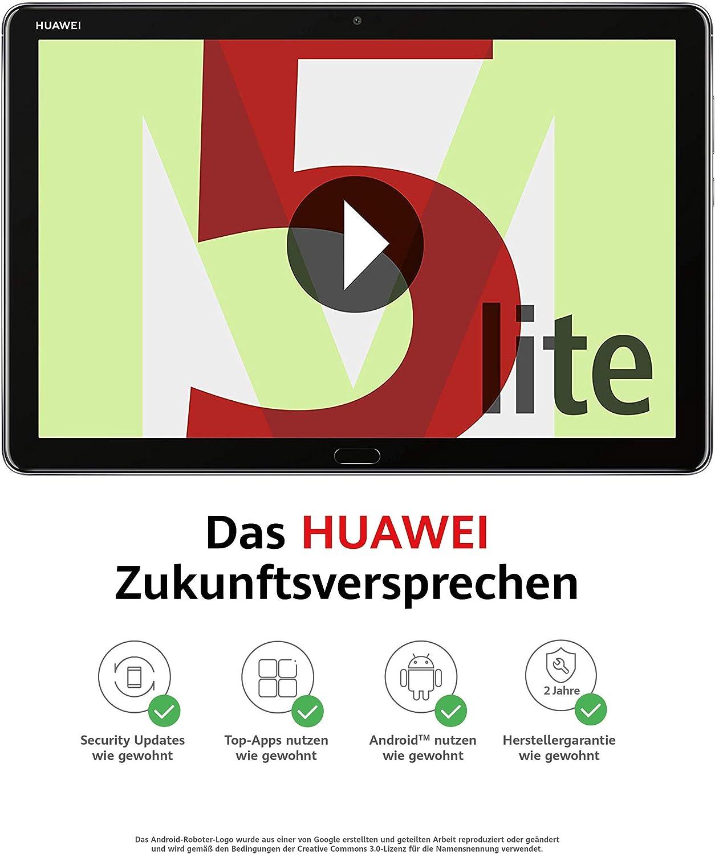 Huawei MediaPad M5 Lite WiFi 10,Tablet-PC 25,6 cm (10,1 Zoll), 1