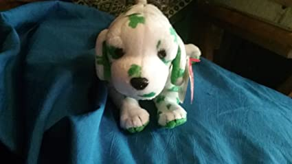 38c85d99b8c Amazon.com  Ty Beanie Baby - Blarn-e the Dog  Ty Store Exclusive ...