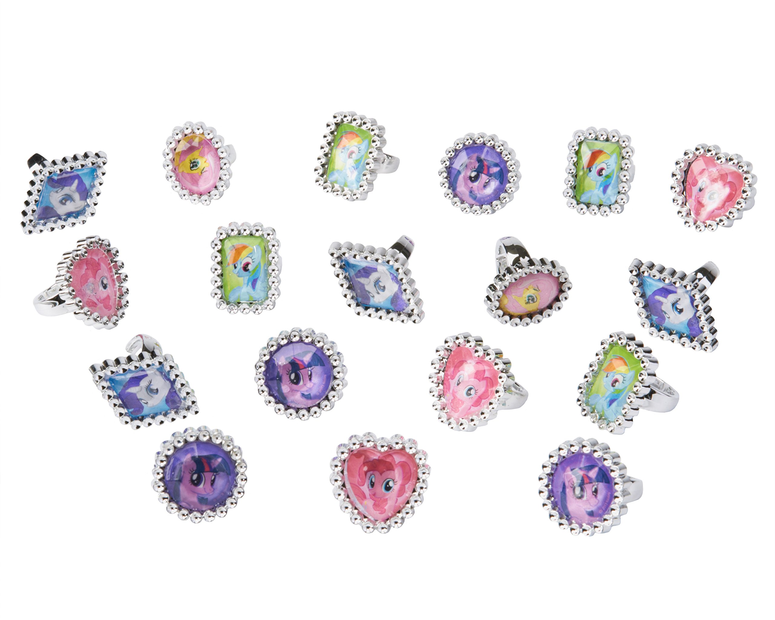 American Greetings My Little Pony Jewel Rings (18 Count)