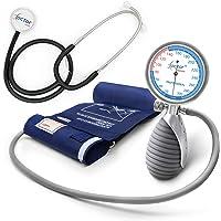 AIESI® Esfigmomanometro Tensiómetro Manual Profesional Aneroide palmar