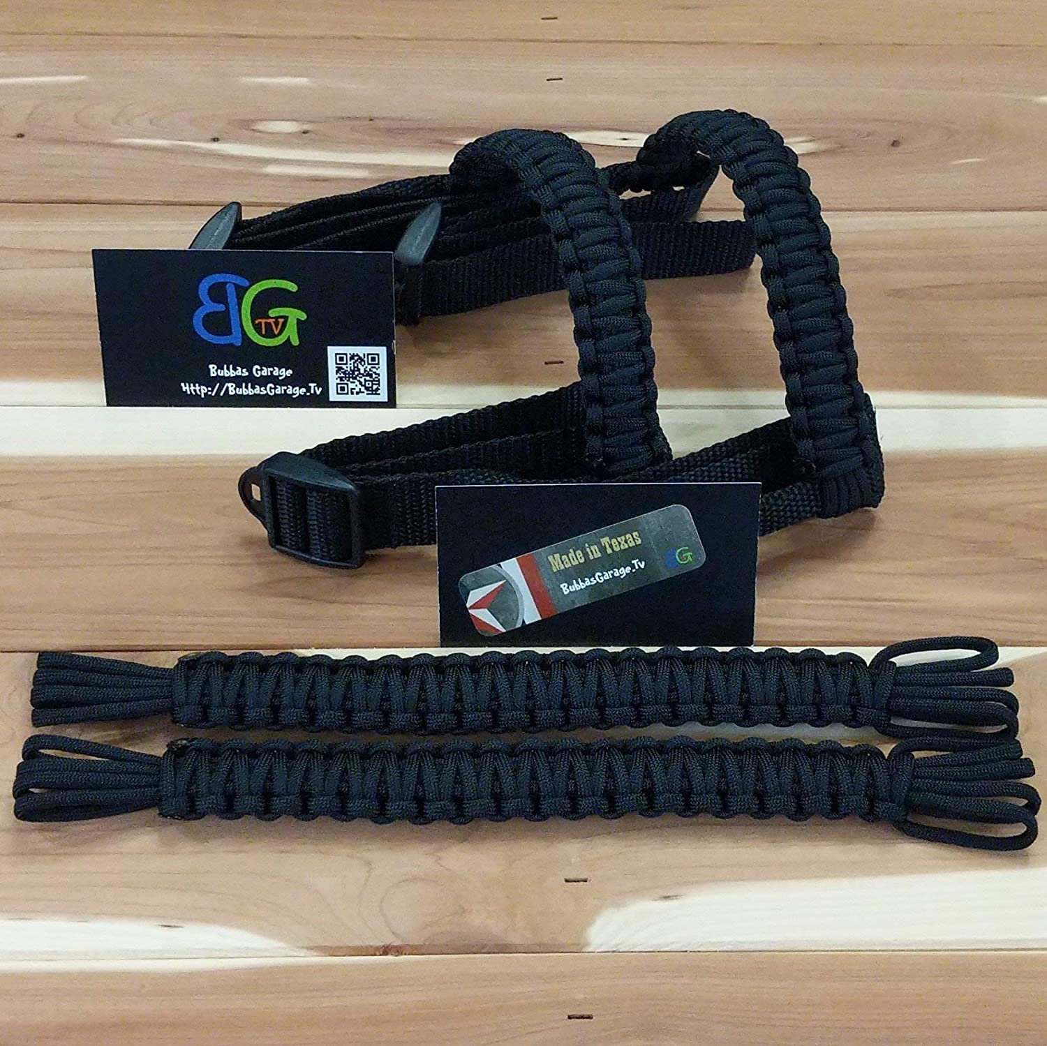 Pick your pairs Paracord Jeep Wrangler Grab Handles Black on Black