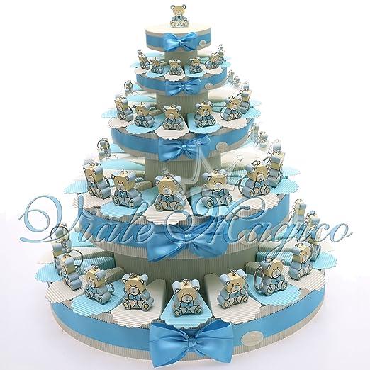 15 opinioni per Torte Bomboniere Battesimo Prima Comunione Nascita Confettata Alzatina