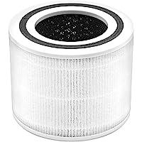 Levoit Luchtreiniger Core P350-RF, 3-in-1 H13 True HEPA-filter voor huisdierallergieën, nieuwe fijne niet-geweven stof…