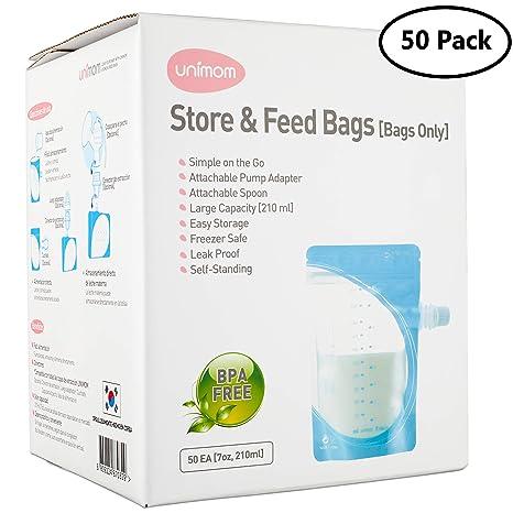 Amazon.com: Bolsas de almacenamiento de leche materna y ...