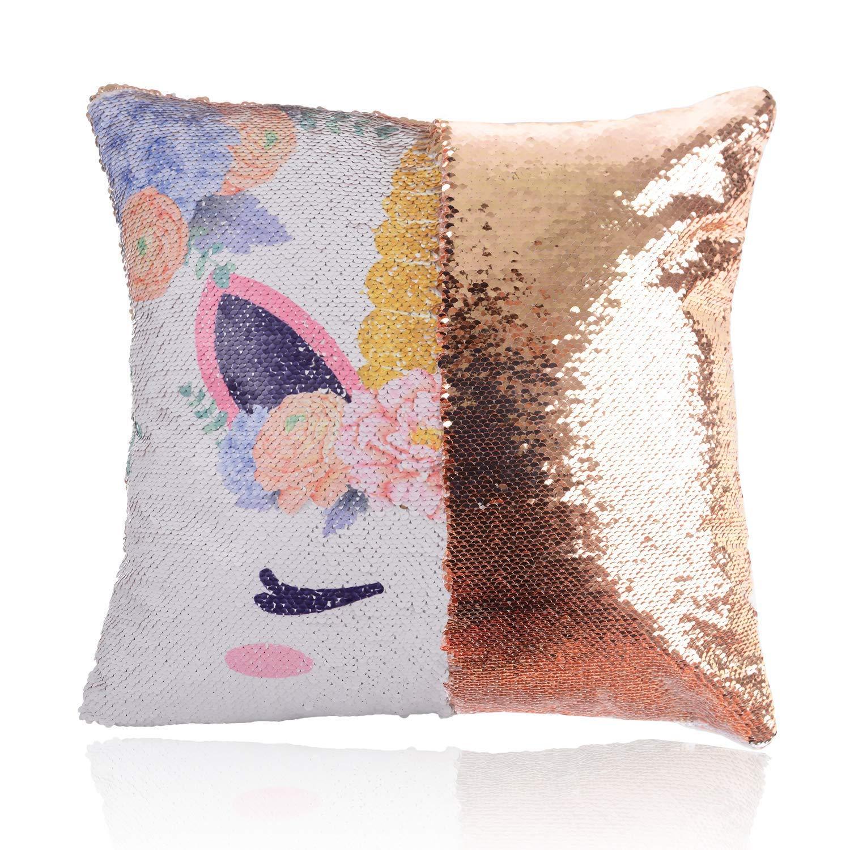 Amazon.com: Ame Ryoku Unicorn Magic - Funda de almohada ...