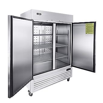 Amazon.com: Refrigeradores comerciales verticales de 2 ...