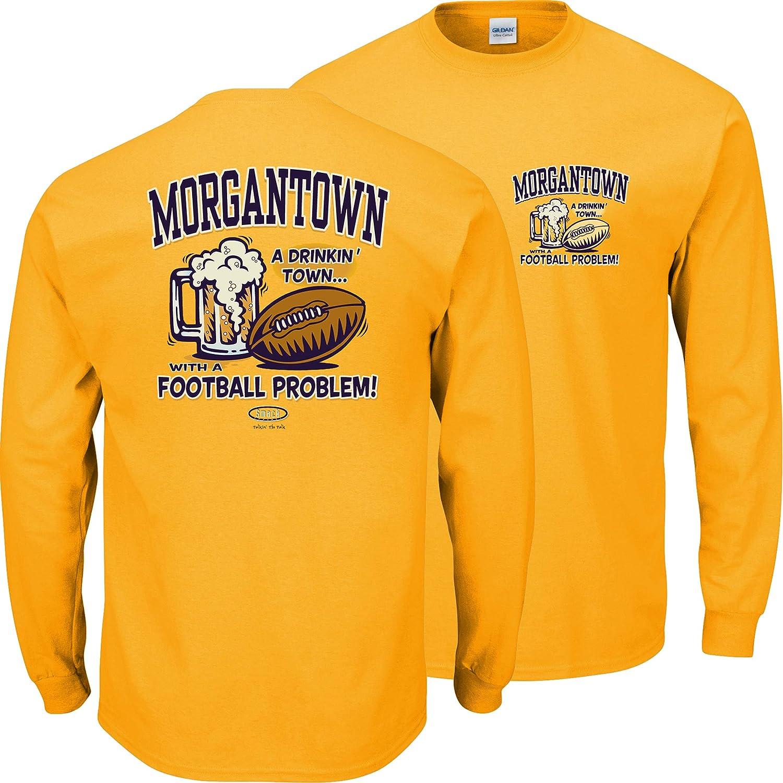 2019春の新作 West Virginiaサッカーファン X。Morgantown Drinking Town長袖ゴールドTシャツ( S B00NVE1DEO - Drinking 3 X ) 4L B00NVE1DEO, 与謝郡:ac24f31c --- ceska-porna.cz