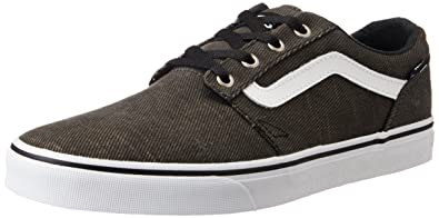 528b4f60aceb Vans Men s Chapman Stripe (T L) Black and White Sneakers - 6 UK India