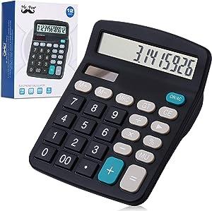 Mr. Pen- Calculator, Calculators Large Display, Standard Function Calculator, 12-Digit, Desktop Calculator, Large Calculator, Office Calculator, Solar Calculator, Calculator Large Display and Buttons
