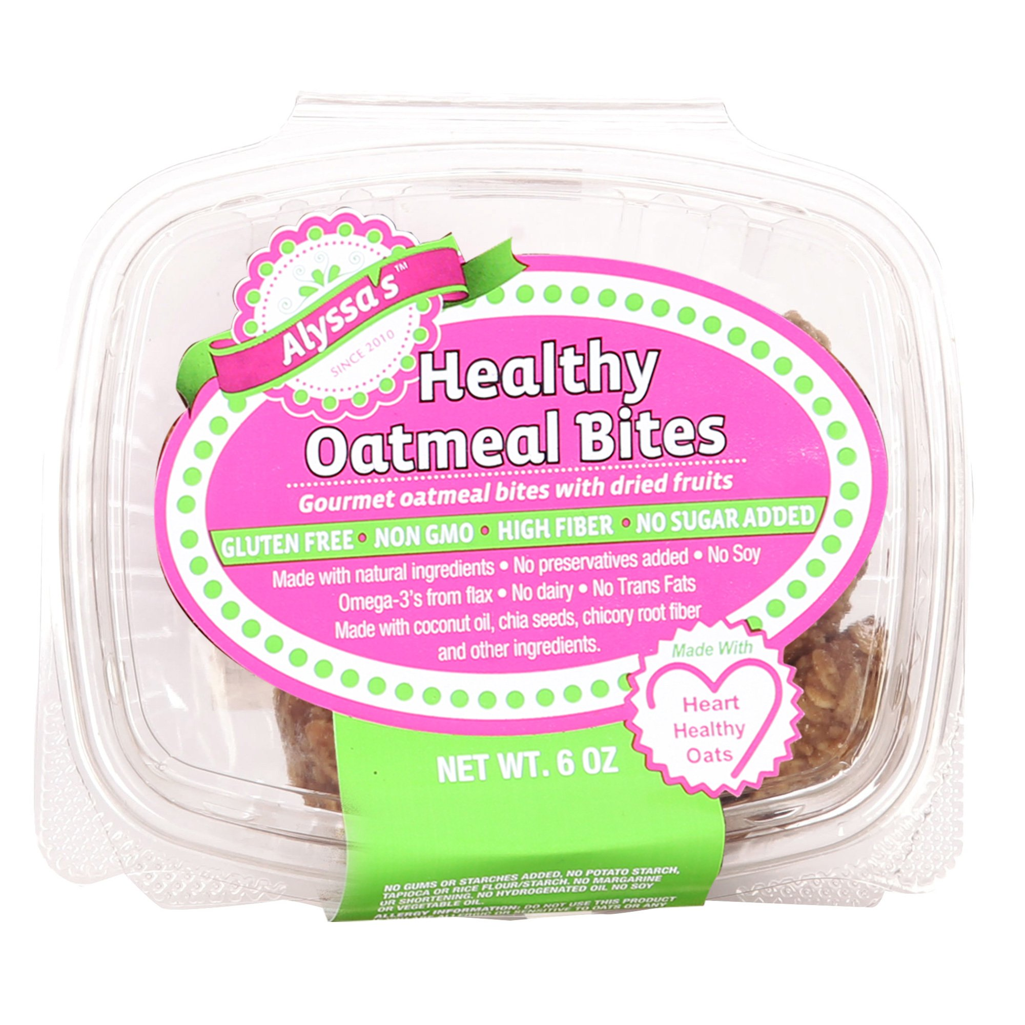 Alyssa's Gluten Free Oatmeal Cookies - Pack of 4 by Alyssa's Cookies